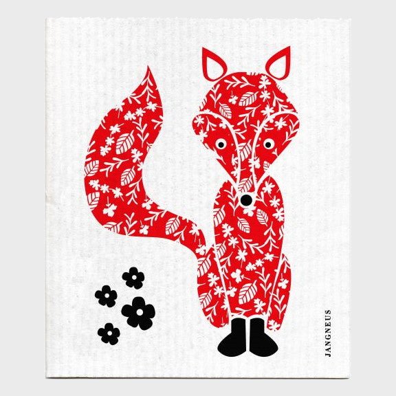 Jangneus Dishcloth, Red Fox