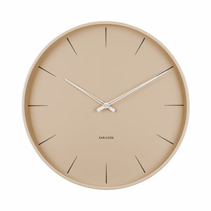 Wall clock Allure 40cm, Sand