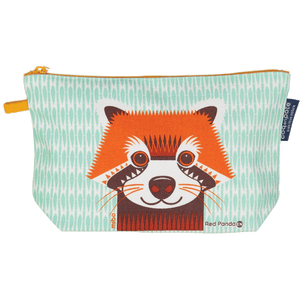 Animaux Pencil Case (or make-up bag), mint RED PANDA