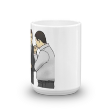 Slaps Roof of Car Mug