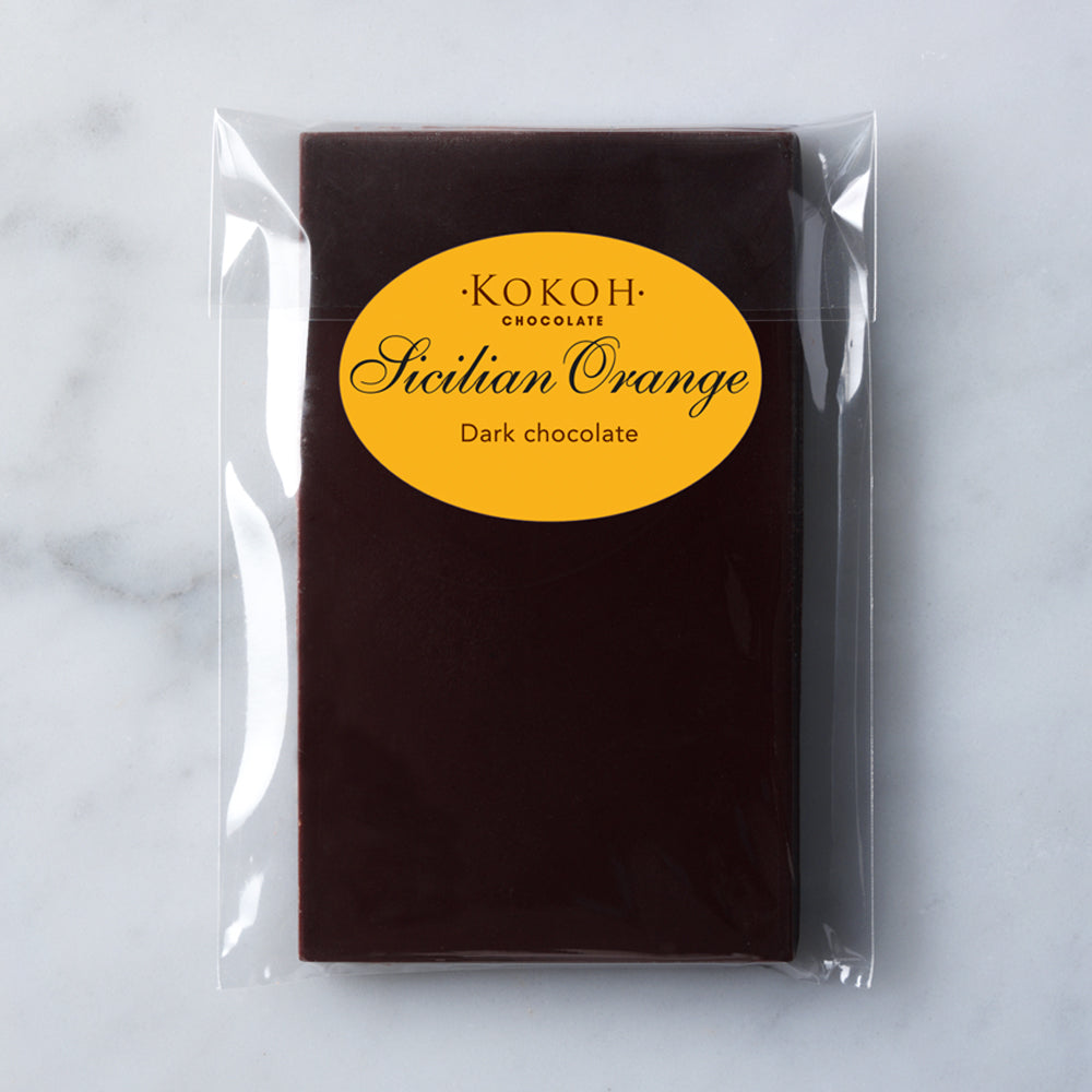 Sicilian Orange Chocolate Bar