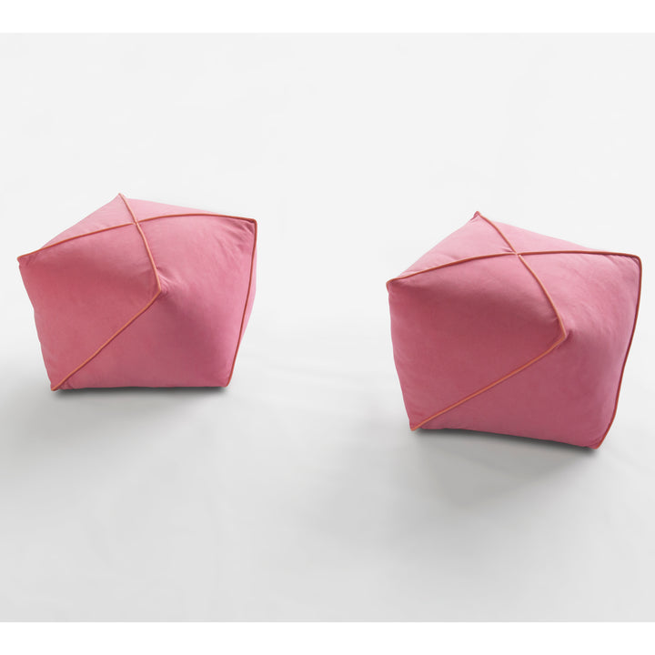 Origami pouf (2 pieces)