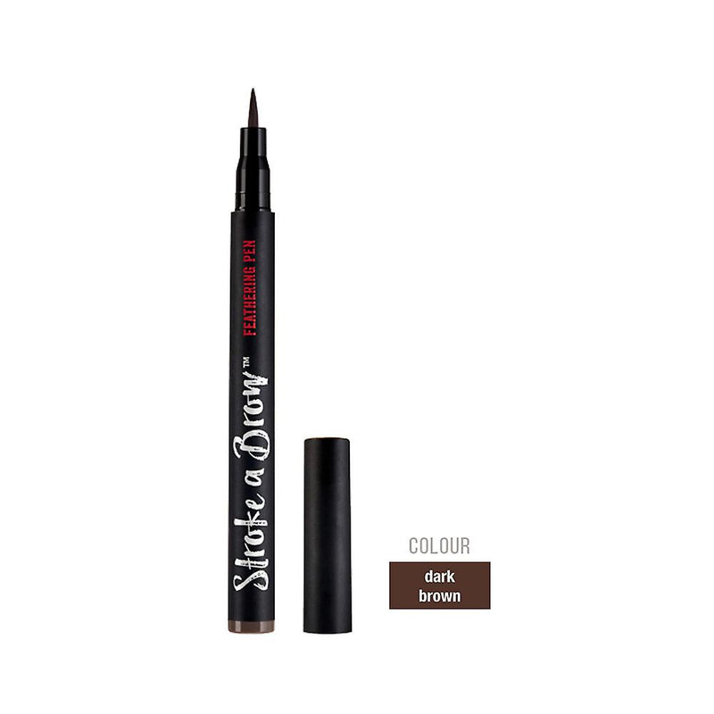 Ardell Stroke A Brow FEATHERING PEN DARK BROWN