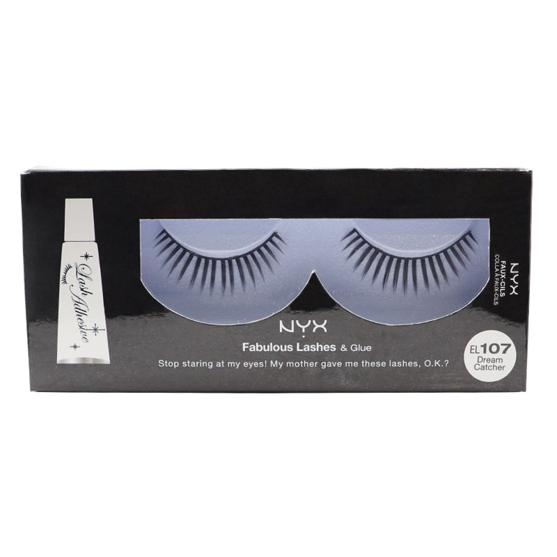 NYX Fabulous Lashes & Glue - 107 - Dream Catcher