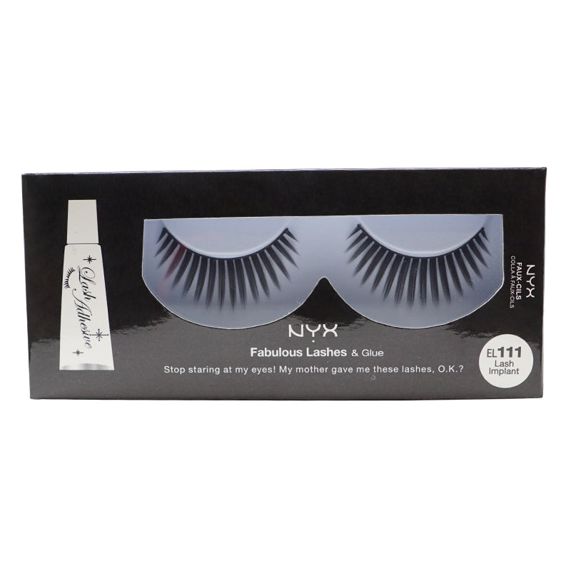 NYX Fabulous Lashes & Glue - EL111 Lash Implant