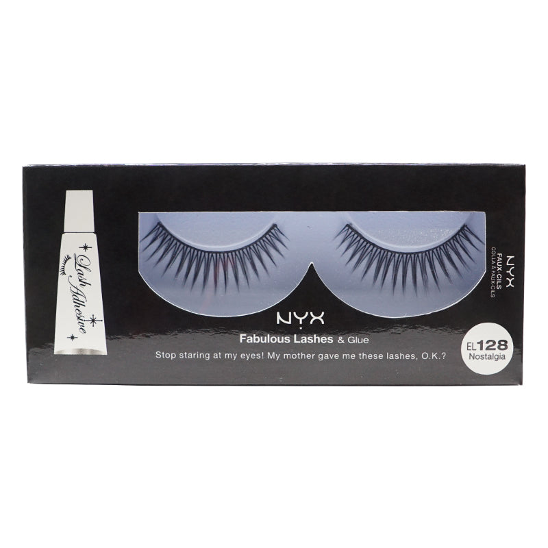 NYX Fabulous Lashes & Glue - 128 - Nostalgia