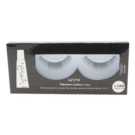 NYX Fabulous Lashes & Glue - 130 - Show Girl