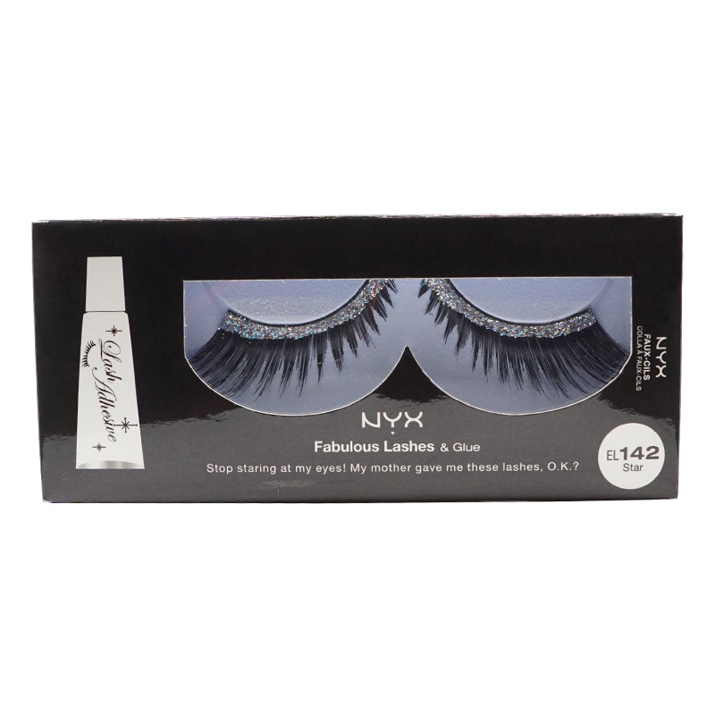 NYX Fabulous Lashes & Glue - 142 - Star