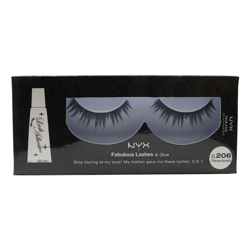 NYX Fabulous Lashes & Glue - 206 - Fierce Biotch