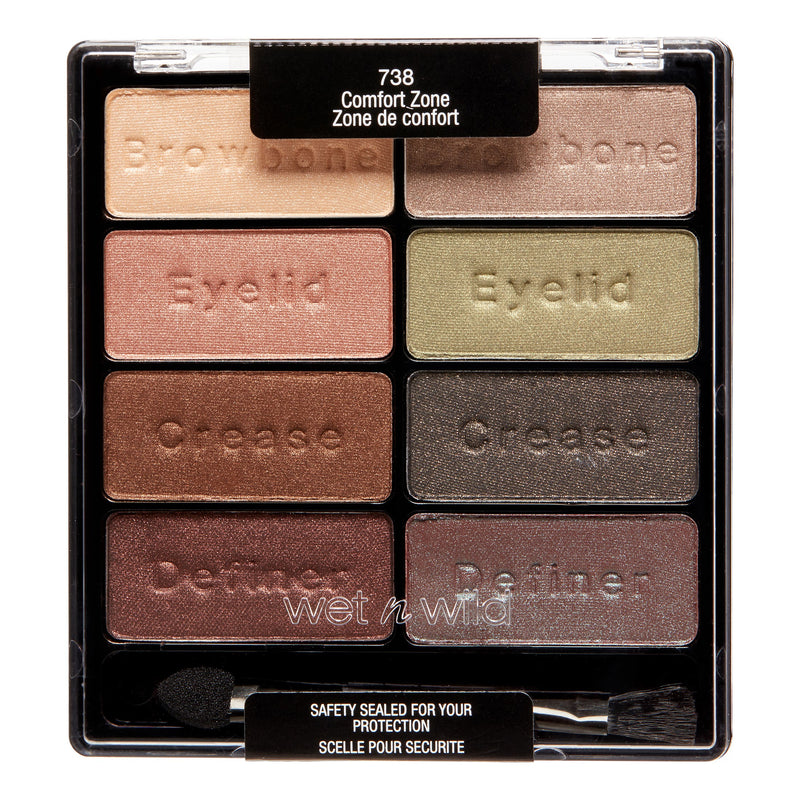 Wet N Wild Color Icon Eyeshadow Collection, Comfort Zone - 738