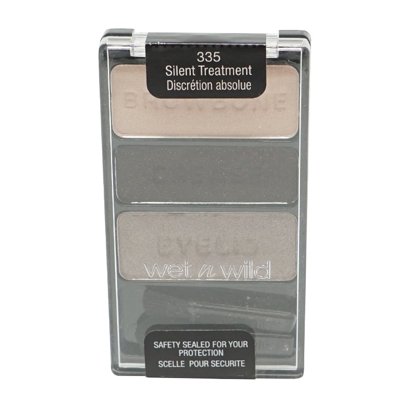 Wet n Wild Color Icon Eyeshadow Trio, Silent Treatment - 335