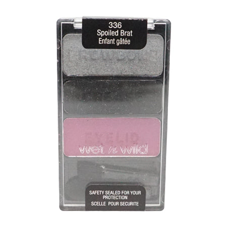 Wet n Wild Color Icon Eyeshadow Trio, Spolied Brat - 336
