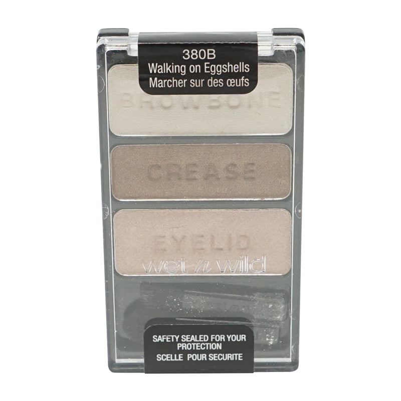 Wet n Wild Color Icon Eyeshadow Trio, Walking On Eggshells - 380B