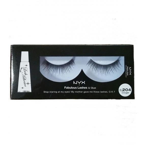 NYX Fabulous Lashes & Glue - 204 - Cougar