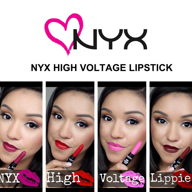 NYX High Voltage Lipsticks
