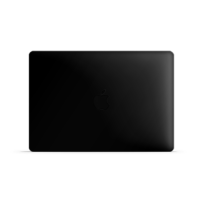 Macbook Air Skin - Black Matt