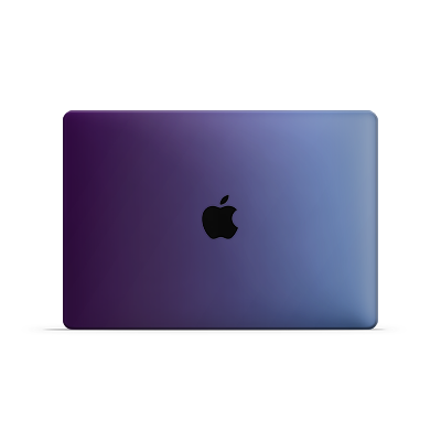 Macbook Air Skin - Caribbean Blue Chameleon Matt