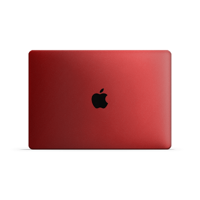 Macbook Air Skin - Cherry Metallic Matt