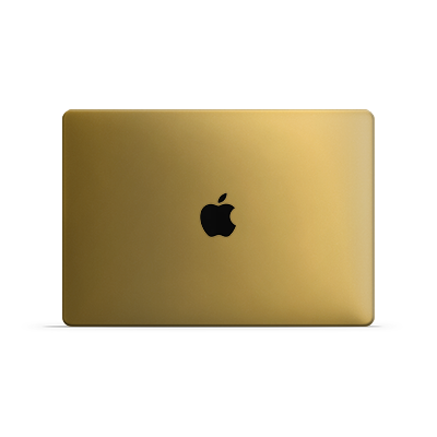 Macbook Air Skin - Gold Matt