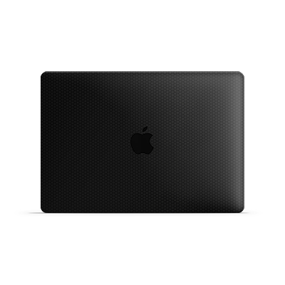 Macbook Air Skin - Black Honeycomb