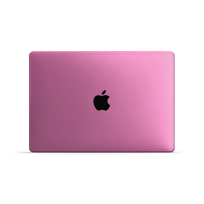 Macbook Air Skin - Pink Bubblegum Satin