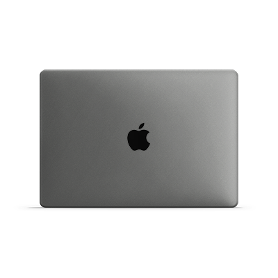 Macbook Pro Skin - Silver Metallic Matt