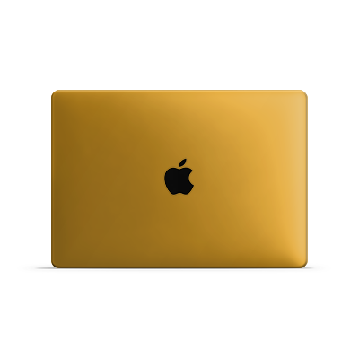 Macbook Pro Skin - Sweet Orange Matt