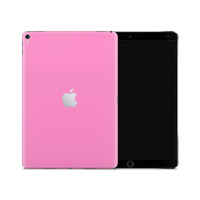 iPad Skin - Pink Bubblegum Satin
