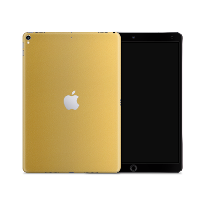 iPad Skin - Gold Matt
