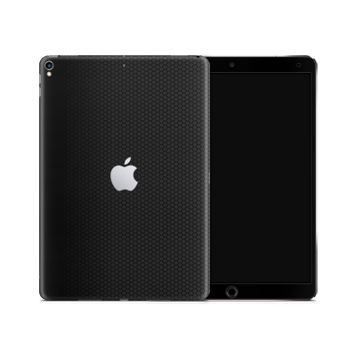 iPad Skin - Black Honeycomb