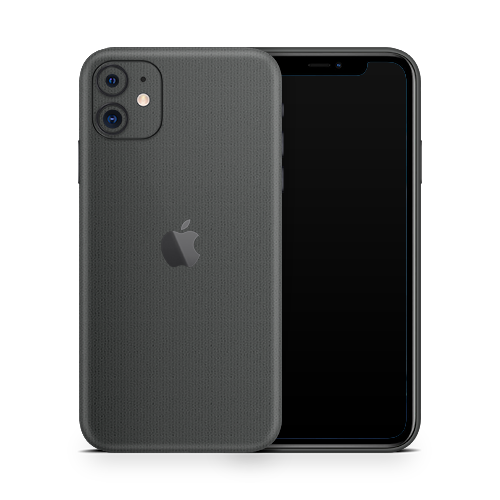 iPhone 11 Skin - Brushed Graphite