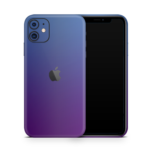 iPhone 11 Skin - Caribbean Blue Chameleon Matt