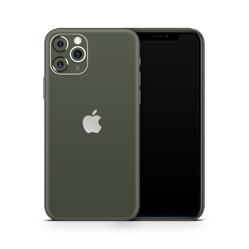 iPhone 12 Pro Skin - Army Olive Matt