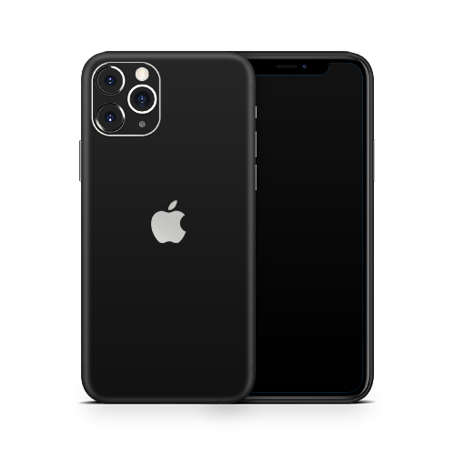 iPhone 11 Pro Max Skin - Black Super Matt