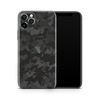 iPhone 12 Pro Skin - Black Camouflage 3D