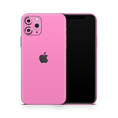 iPhone 12 Pro Skin - Pink Bubblegum Satin