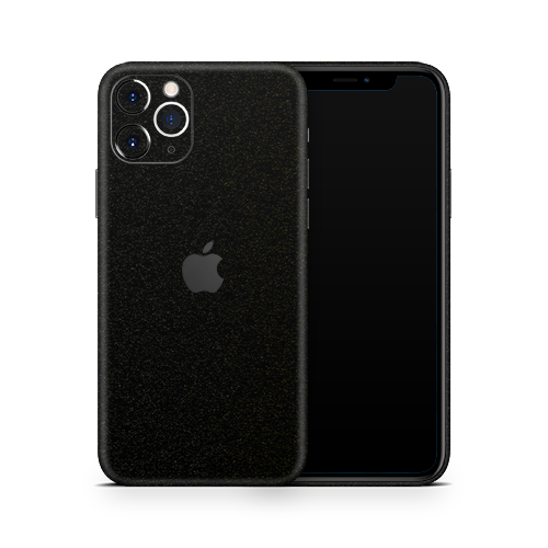 iPhone 12 Pro Max Skin - Galactic Black Gold