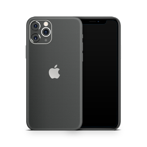 iPhone 11 Pro Skin - Brushed Graphite