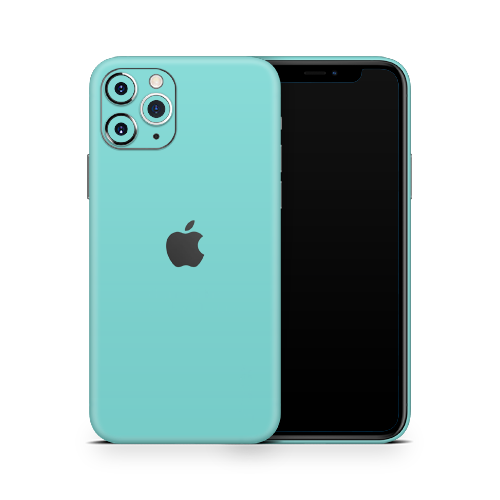 iPhone 11 Pro Max Skin - Mint Matt