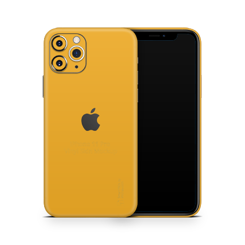 iPhone 11 Pro Max Skin - Sweet Orange Matt