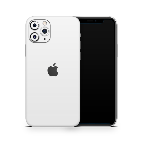 iPhone 11 Pro Max Skin - White Matt