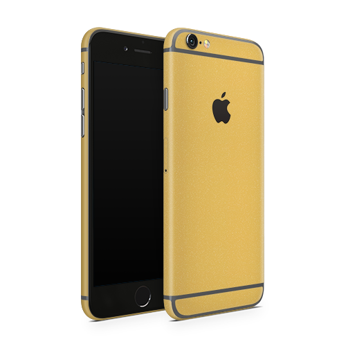 iPhone 6 Plus Skin - Brushed Gold