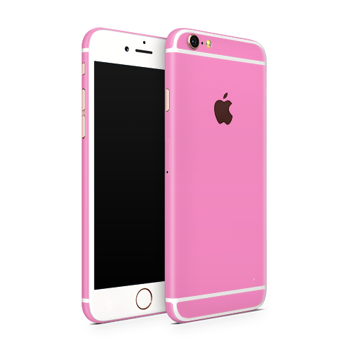 iPhone 6 Plus Skin - Pink Bubblegum Satin