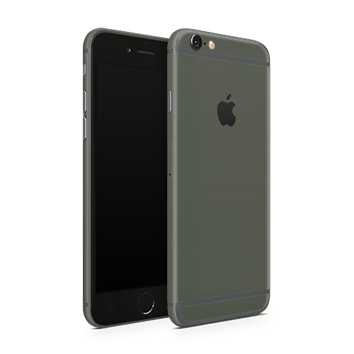 iPhone 6s Plus Skin - Army Olive Matt