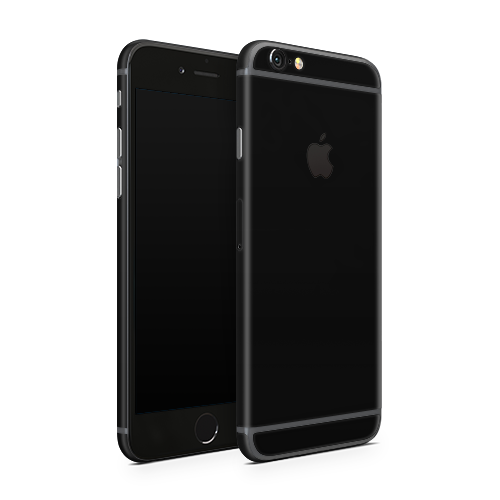 iPhone 6 Plus Skin - Black Super Matt