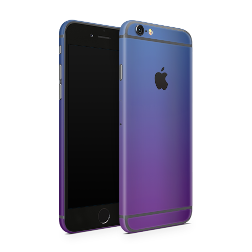 iPhone 6 Skin - Caribbean Blue Chameleon Matt