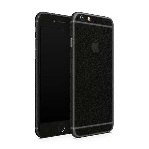 iPhone 6 Plus Skin - Galactic Black Gold