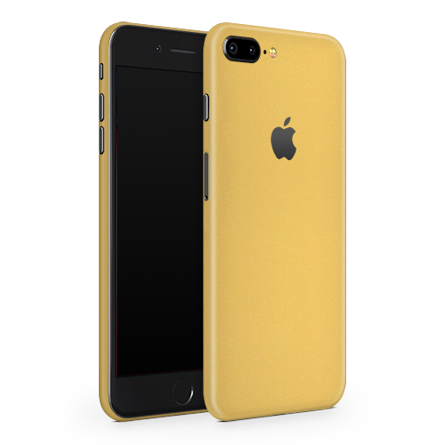 iPhone 8 Plus Skin - Gold Matt