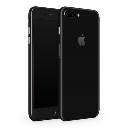 iPhone 7 Plus Skin - Black Super Matt