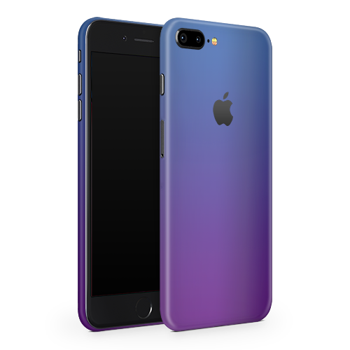 iPhone 8 Plus Skin - Caribbean Blue Chameleon Matt